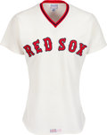 Baseball Collectibles:Uniforms, 1978 Jim Rice Game Worn Boston Red Sox Jersey Gifted to Tony Dorsett. ...