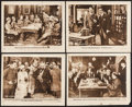 """Movie Posters:Drama, The Kaiser's Finish (Warner Brothers, 1918). Lobby Cards (4) (8"""" X 10""""). Drama.. ... (Total: 4 Items)"""