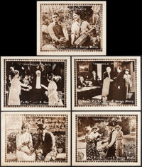 """Real Folks (Triangle, 1918). Title Lobby Card & Lobby Cards (4) (11"""" X 14""""). Comedy. ... (Total: 5 Items)"""