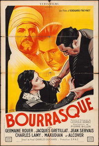 """Bourrasque (VEDIS Film, 1935). French Affiche (31.5"""" X 47.25""""). Foreign"""