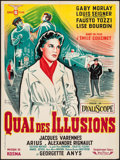 """Movie Posters:Foreign, Quai des Illusions (CFF, 1959). French Affiche (23.5"""" X 31.5""""). Foreign.. ..."""