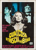 "Movie Posters:Horror, Something Creeping in the Dark (DDF, 1971). Italian 4 - Fogli(55.25"" X 77.75""). Horror.. ..."