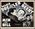 """Movie Posters:Comedy, Min and Bill (MGM, 1930). Original Half Sheet Poster Artwork (20"""" X16""""). Comedy.. ..."""