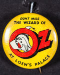 """Movie Posters:Fantasy, The Wizard of Oz (MGM, 1939). Button Pin (Diameter: 1.25""""). Fantasy.. ..."""