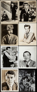 """Movie Posters:Miscellaneous, Male Star Photo Lot (1930s-1960s). Photos (70+) (Approx. 8"""" X 10""""). Miscellaneous.. ... (Total: 70 Items)"""