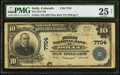 National Bank Notes:Colorado, Holly, CO - $10 1902 Plain Back Fr. 624 The First NB Ch. # 7704....