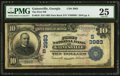 National Bank Notes:Georgia, Gainesville, GA - $10 1902 Date Back Fr. 618 The First NB Ch. # (S)3983. ...
