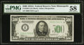 Small Size:Federal Reserve Notes, Fr. 2202-I $500 1934A Federal Reserve Note. PMG Choice About Unc 58.. ...