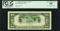 Error Notes:Inverted Reverses, Fr. 2054-G $20 1934 Federal Reserve Note. PCGS Very Choice New 64.....