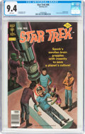Bronze Age (1970-1979):Science Fiction, Star Trek #46 (Gold Key, 1977) CGC NM 9.4 White pages....