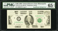 Fr. 2173-I $100 1990 Federal Reserve Note. PMG Gem Uncirculated 65 EPQ