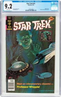 Star Trek #51 (Gold Key, 1978) CGC NM- 9.2 White pages