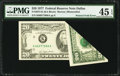 Error Notes:Foldovers, Fr. 2072-K $20 1977 Federal Reserve Note. PMG Choice Extremely Fine 45 EPQ.. ...