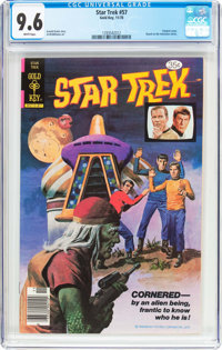 Star Trek #57 (Gold Key, 1978) CGC NM+ 9.6 White pages