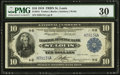 Large Size:Federal Reserve Bank Notes, Fr. 815 $10 1918 Federal Reserve Bank Note PMG Very Fine 30.. ...