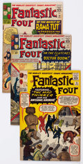 Silver Age (1956-1969):Superhero, Fantastic Four #15, 17, and 19 Group (Marvel, 1963).... (Total: 3 Comic Books)