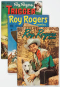 Golden Age (1938-1955):Western, Roy Rogers Comics Group of 17 (Dell, 1950-58) Condition: Average VG-.... (Total: 17 Comic Books)