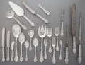 Silver Flatware, American:Gorham, A One Hundred Seventeen-Piece Gorham Versailles PatternSilver Flatware Service, Providence, Rhode Island, desig... (Total:117 Items)
