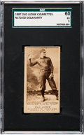 Baseball Cards:Singles (Pre-1930), 1887 N172 Old Judge Ed Delahanty (#123-4) SGC 60 EX 5. ...