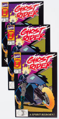 Modern Age (1980-Present):Superhero, Ghost Rider #1-5 Group (Marvel, 1990-97) Condition: Average NM-....(Total: 13 Comic Books)