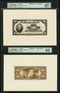 Canadian Currency, BC-18 $500 1935 French Text Face and Back Proofs.. ...