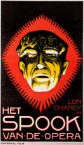 Memorabilia:Movie-Related, Het Spook Van de Opera [Phantom of the Opera] Dutch MoviePoster (1925)....