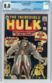 The Incredible Hulk #1 (Marvel, 1962) CGC VF 8.0 Off-white pages