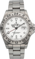 Timepieces:Wristwatch, Rolex Ref. 16570 Steel Oyster Perpetual Date Explorer II, circa 2000. ...