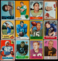 Football Cards:Lots, 1956-72 Philadelphia & Topps Football Collection (31)....