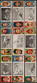 Baseball Cards:Lots, 1912 T202 Hassan Triple Folders Collection (9). ...
