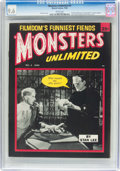 Magazines:Humor, Monsters Unlimited #4 (Marvel, 1965) CGC NM+ 9.6 White pages....