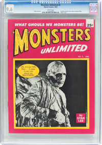 Monsters Unlimited #5 (Marvel, 1965) CGC NM+ 9.6 White pages