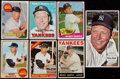 Baseball Cards:Lots, 1964-69 Topps Mickey Mantle Collection (7)....