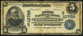 National Bank Notes:Alabama, Tallassee, AL - $5 1902 Plain Back Fr. 606 The First NB Ch. # (S)10766. ...