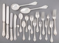 Silver Flatware, American:Tiffany, A Two Hundred and Forty-Piece Tiffany & Co. BeekmanFlatware Service for Twelve, New York, New York, designed 18...(Total: 240 Items)