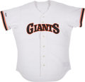 Baseball Collectibles:Uniforms, 1989 Kevin Mitchell Game Worn San Francisco Giants Jersey. ...