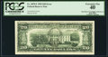 Error Notes:Offsets, Full Face to Back Offset Error Fr. 2079-F $20 1993 Federal ReserveNote. PCGS Extremely Fine 40.. ...