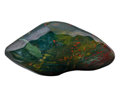 Lapidary Art:Carvings, Polished Bloodstone. India. 6.89 x 3.56 x 2.91 inches (17.50 x9.03 x 7.38 cm). ...
