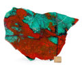 Lapidary Art:Carvings, Sonora Sunset. Milpillas Mine. Sonora. Mexico.10.24 x 7.17 x 0.26 inches (26.00 x 18.20 x 0.67 cm). ...