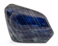 Lapidary Art:Carvings, Labradorite Free-Form. Madagascar. 7.09 x 5.12 x 1.47 inches(18.00 x 13.00 x 3.74 cm). ...