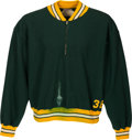 Football Collectibles:Uniforms, 1960's Green Bay Packers Game Worn Sideline Sweatshirt....