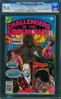 Challengers of the Unknown #84 - Don Rosa Collection (DC, 1977) CGC NM+ 9.6 White pages
