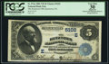 National Bank Notes:Pennsylvania, Kutztown, PA - $5 1882 Value Back Fr. 574a The Kutztown NB Ch. #(E)5102. ...