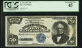 Large Size:Silver Certificates, Fr. 335 $50 1891 Silver Certificate PCGS Extremely Fine 45.. ...
