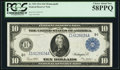 Fr. 939 $10 1914 Federal Reserve Note PCGS Choice About New 58PPQ