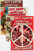 Silver Age (1956-1969):War, Sgt. Fury and His Howling Commandos Group of 7 (Marvel, 1967-69) Condition: Average VF/NM.... (Total: 7 Comic Books)