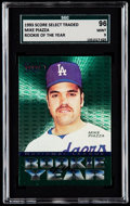Baseball Cards:Singles (1970-Now), 1993 Score Select Mike Piazza NL Rookie of the Year SGC 96 Mint9....