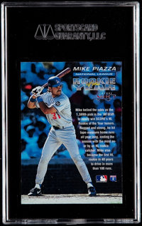 1993 Score Select Mike Piazza Nl Rookie Of The Year Sgc 96 Lot