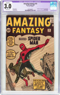 Amazing Fantasy #15 Trimmed (Marvel, 1962) CGC Apparent GD/VG 3.0 Off-white pages
