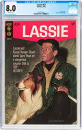 Silver Age (1956-1969):Adventure, Lassie #67 (Gold Key, 1966) CGC VF 8.0 Off-white pages....